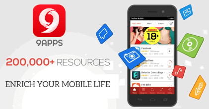 9apps download android apps free