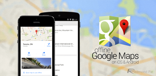 google maps offline without internet