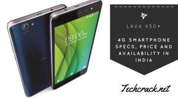 Lava X50+ 4G Smartphone Specs, Price and Availability in India