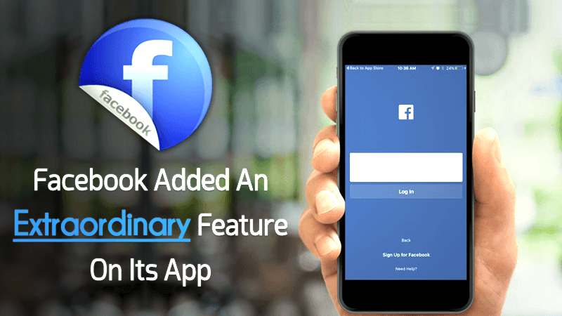 facebook added extraordinary feature to messenger app