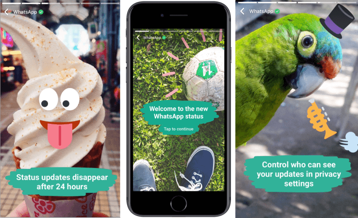 WhatsApp update introduces New Status Feature Like Snapchat