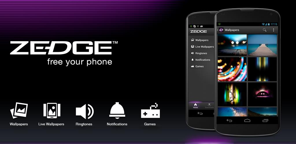 Zedge Toepassing - Android-apps Download