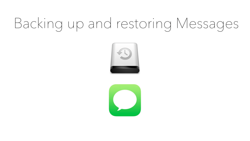 How to Backup And Restore Sms And Imessages On A Clean Ios Install