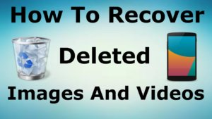 How to Recover Photos from Android Phone