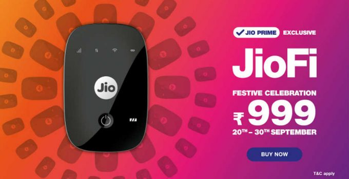 buy jiofi device at rs999