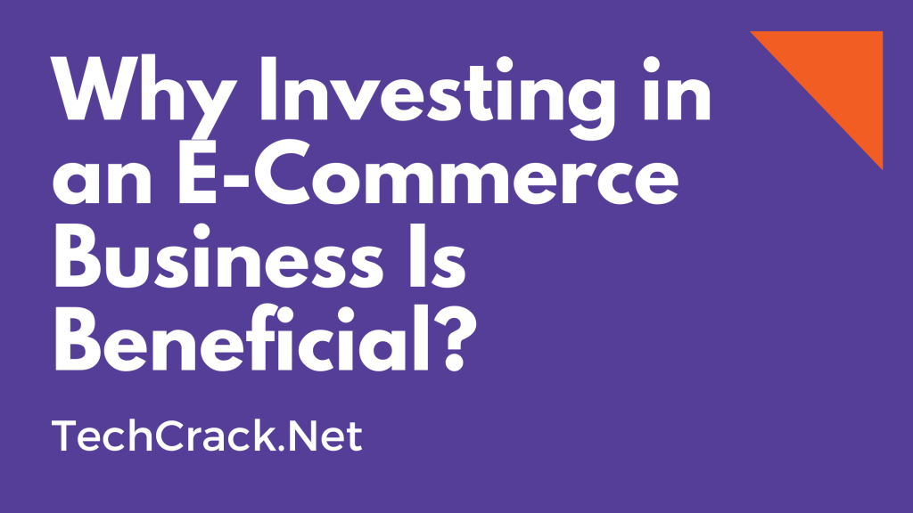 Why Investing in an E-Commerce Business Is Beneficial?